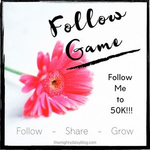 🌼 Follow Me to 50K Followers!!! 🌼